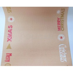 CAMINOS DC FESTIVE CHARM RED X 1.20 MTS