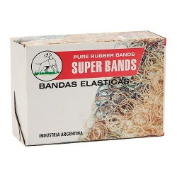 BANDAS ELASTICAS X 500 GRS 25MM SUPERBANDS