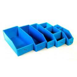 CAJAS PLASTICAS P/REPUESTOS N 4 30X10X11 3DIVISORI