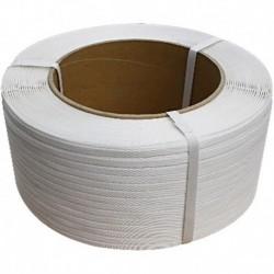 FLEJE PLASTICO BLANCO 13MM X KG (5 kg/750 MTRS)