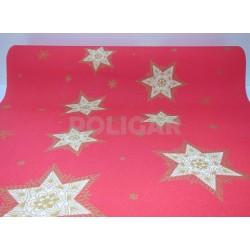 CAMINOS DC GLITTERING STARS ROJO X 1.20 MTS