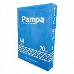 "RESMA ""PAMPA"" A4 DE 70 GRS"