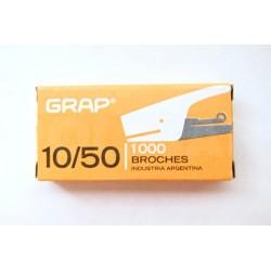BROCHES GRAP 10/50 X 1000...