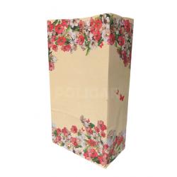 SOBRE C/FUELLE FLOWERS 14 X 08 X 26