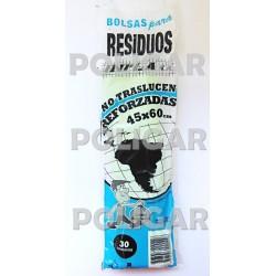 RESIDUOS REFORZADOS 45 X 60 X 30 A.D C/VARIOS 50 P