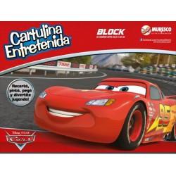 BLOCK CARTULINA CARS X 20 HOJAS