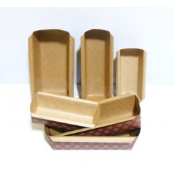 MOLDES P/BUDIN C/FLEJE 18X5X5 CHICOS (300 grs)