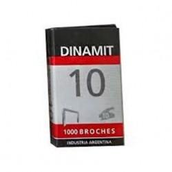 BROCHES DINAMIT 10 X 1000 U