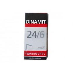 BROCHES DINAMIT 24/6 X 1000 U