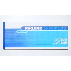 PAGARE SIN PROTESTO 22 X 10 X 40 HOJAS