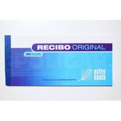 RECIBO ORIGINAL CHICO 9 X 15 CM X 40 HOJAS