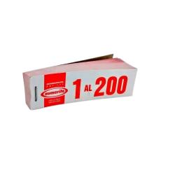 TALONARIO GUARDARROPA 1 AL 200 (11X3,4CM)