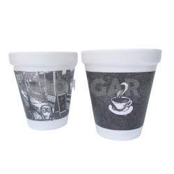 VASOS TERMICO DART 240 CC IMPRESO CAFE X 25 UNID