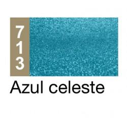 GLITTER AD AZUL CELESTE TUBO 3 GRS