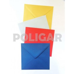 SOBRE MEDORO AZUL 7 X 10,5 X 10 UNIDADES