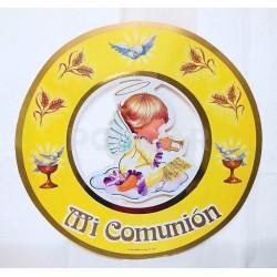 AFICHE COMUNION REDONDO ANGELITO X 1